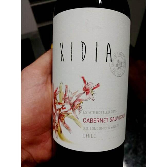 Trên tay sản phẩm Rượu Vang Chile Kidia Cabernet Sauvignon