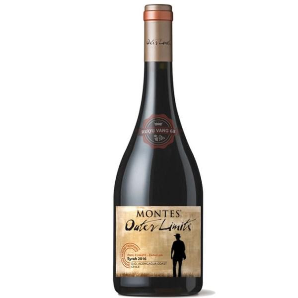 Rượu Vang Chile Montes Outer Limits Syrah