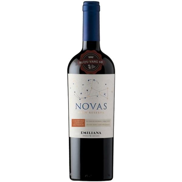 Rượu Vang Chile Novas Gran Reserva Carmenere Cabernet Sauvignon Emiliana