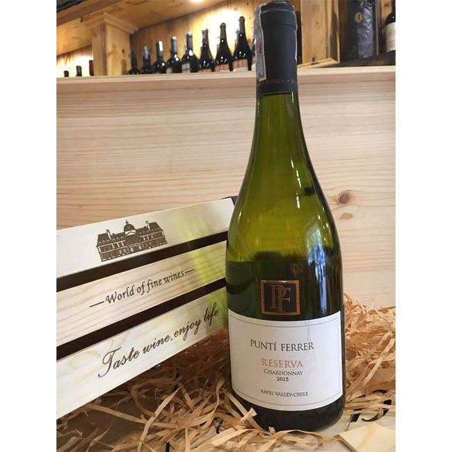 Rượu Vang Chile Punti Ferrer Reserva Chardonnay