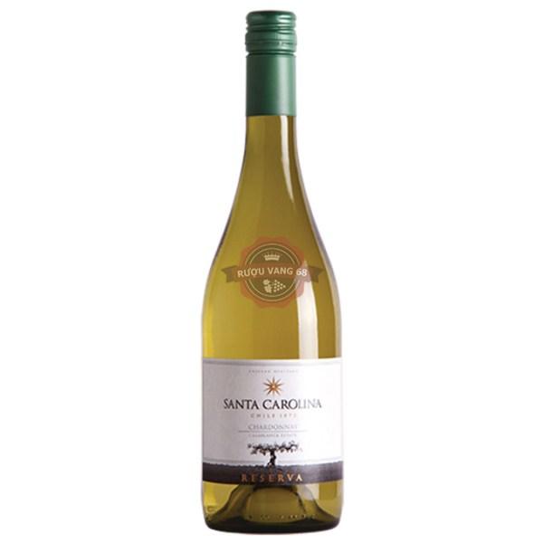 Rượu Vang Chile SANTA CAROLINA Reserva Chardonnay