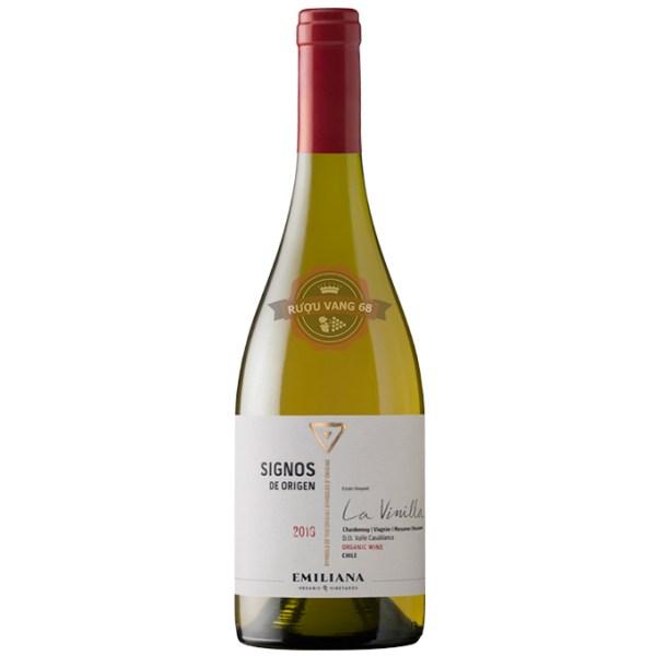 Rượu Vang Chile SIGNOS DE ORIGEN Chardonnay