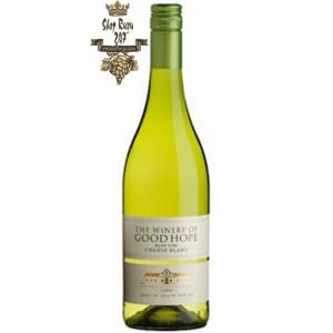 The Winery of Good Hope Chenin Blanc được là sự pha trộn giữa loại nho Chenin Blanc trở nên độc quyền hơn nhờ những cây nho có độ tuổi lâu đời