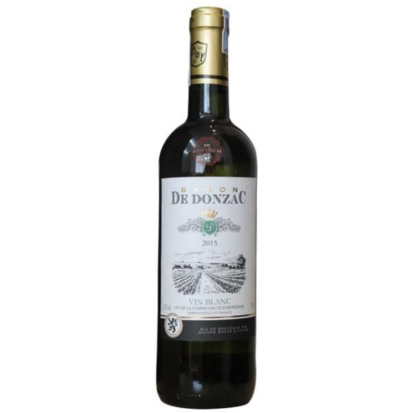 Rượu Vang Pháp Baron De Donzac Vin Blanc