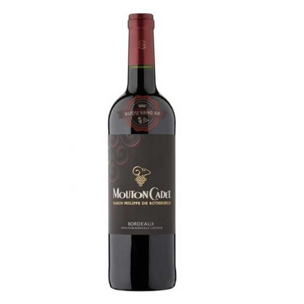 Rượu vang Pháp Baron Philippe de Rothschild Mouton Cadet Red 37.5cl