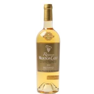 Rượu vang Pháp Baron Philippe de Rothschild Mouton Cadet Reserve Sauternes White