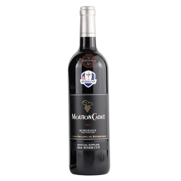 Rượu Vang Pháp Baron Philippe de Rothschild Mouton Cadet Ryder Cup Bordeaux