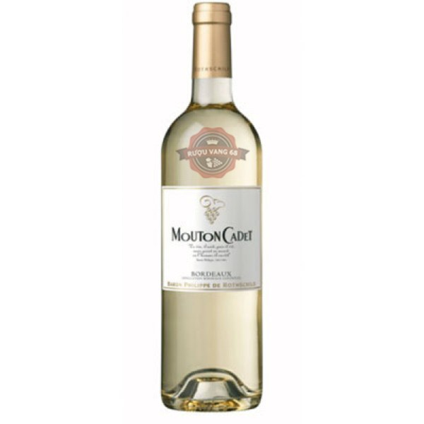 Rượu vang Pháp Baron Philippe de Rothschild Mouton Cadet White