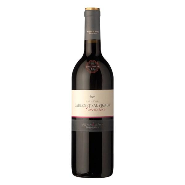 Rượu Vang Pháp Caractere Cabernet Sauvignon Pierre & Remy Gauthier