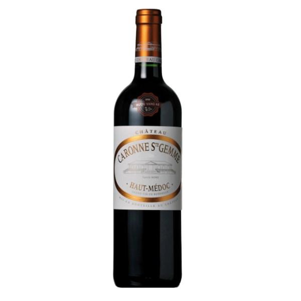 Rượu Vang Pháp Chateau Caronne Ste Gemme Haut Medoc