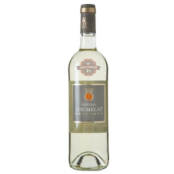 Rượu vang Pháp Château Loumelat White