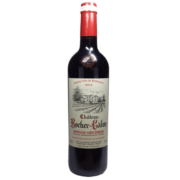 Rượu Vang Pháp Château Rocher Calon Montagne Saint Emilion