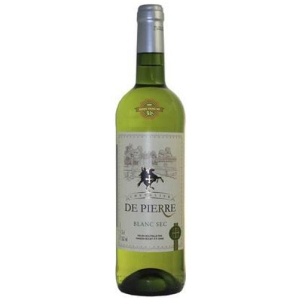 Rượu Vang Pháp Chevalier De Pierre Blanc Sec