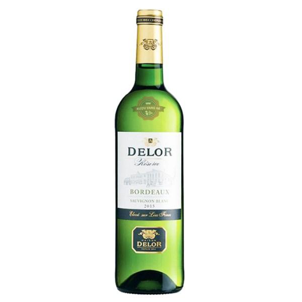 Rượu Vang Pháp Delor Bordeaux Sauvignon Blanc