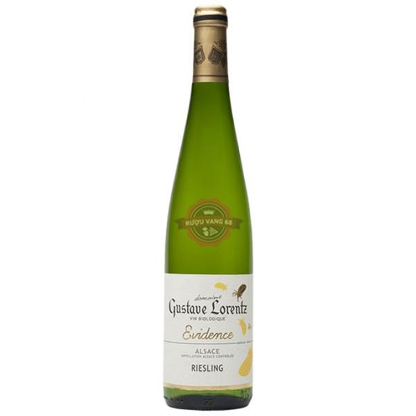 Rượu vang Pháp Gustave Lorentz Alsace Riesling BIO Organic