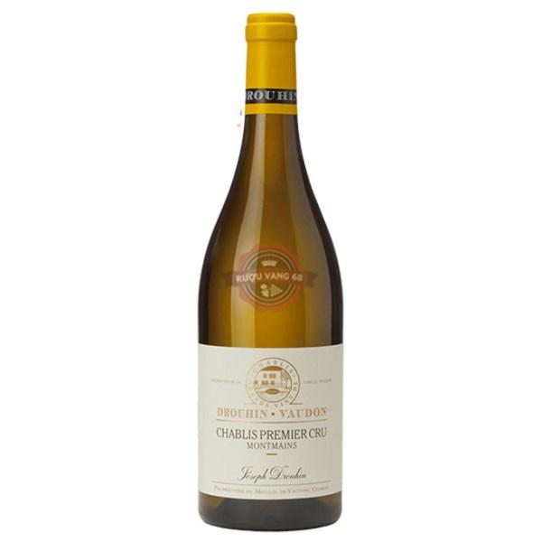 Rượu vang Pháp Joseph Drouhin 1er Cru Montmains Chablis