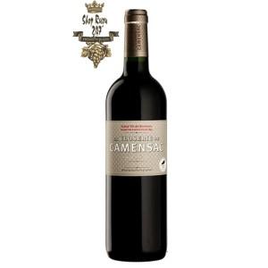 Rượu Vang Đỏ Pháp La Closerie De Camensac có màu đỏ ánh tím. Hương vị của các loại trái cây như việt quất, mận, anh đào và sơ ri.