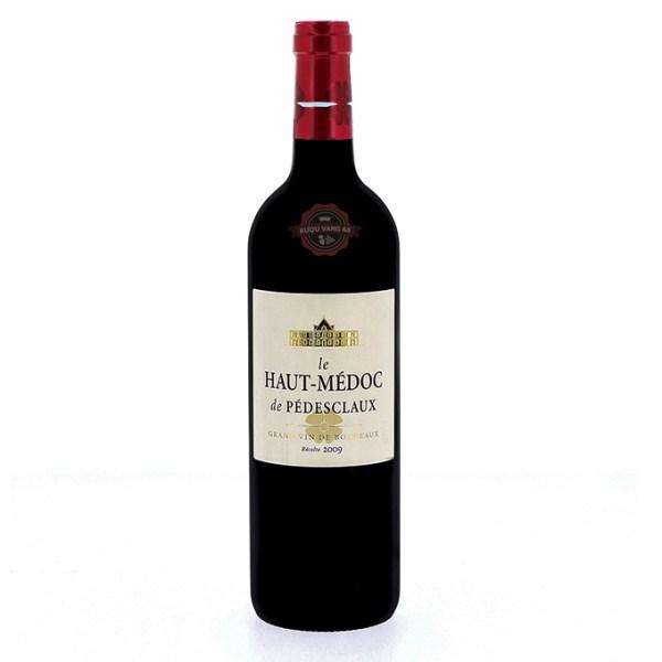 Rượu Vang Pháp Le Haut Medoc de Pedesclaux Château Pedesclaux