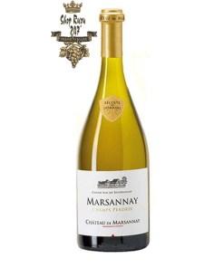 Rượu Vang Pháp Trắng Marsannay Champs Perdrix có mầu vàng tươi sáng, rực rỡ. Hương thơm quyến rũ nồng nàn của trái cây mầu trắng