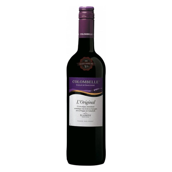 Rượu Vang Pháp Plaimont Colombelle Cotes de Gascogne Cabernet Sauvignon