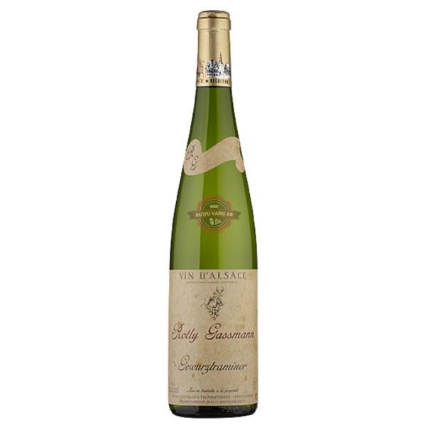 Rượu Vang Pháp Rolly Gassmann Gewürztraminer