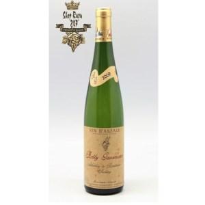 Rượu Vang Trắng Rolly Gassmann Kappelweg De Rorschwihr Riesling có mầu vàng rơm đẹp mắt. Hương vị nhẹ nhàng của dứa, đào dòn