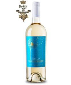 Rượu Vang Trắng Estella Fiano Salento IGP có mầu vàng rơm với ánh xanh. Hương thơm của các loại trái cây nhiệt đới .