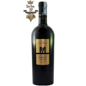 Rượu Vang Đỏ Le vigne di Sammarco M Primitivo Salento có mầu đỏ đẹp mắt. Nằm trong bộ sản phẩm ưu việt của Le Vigne Di Sammarco,