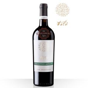 Rượu Vang Ý Talo Primitivo-Merlot Tarantino IGP