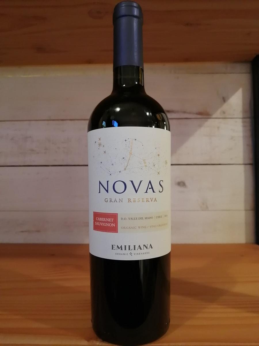 Rượu Vang Đỏ Novas Gran Reserva Cabernet Sauvignon  Emiliana bắt đầu với 4-5 ngày trước khi lên men lạnh