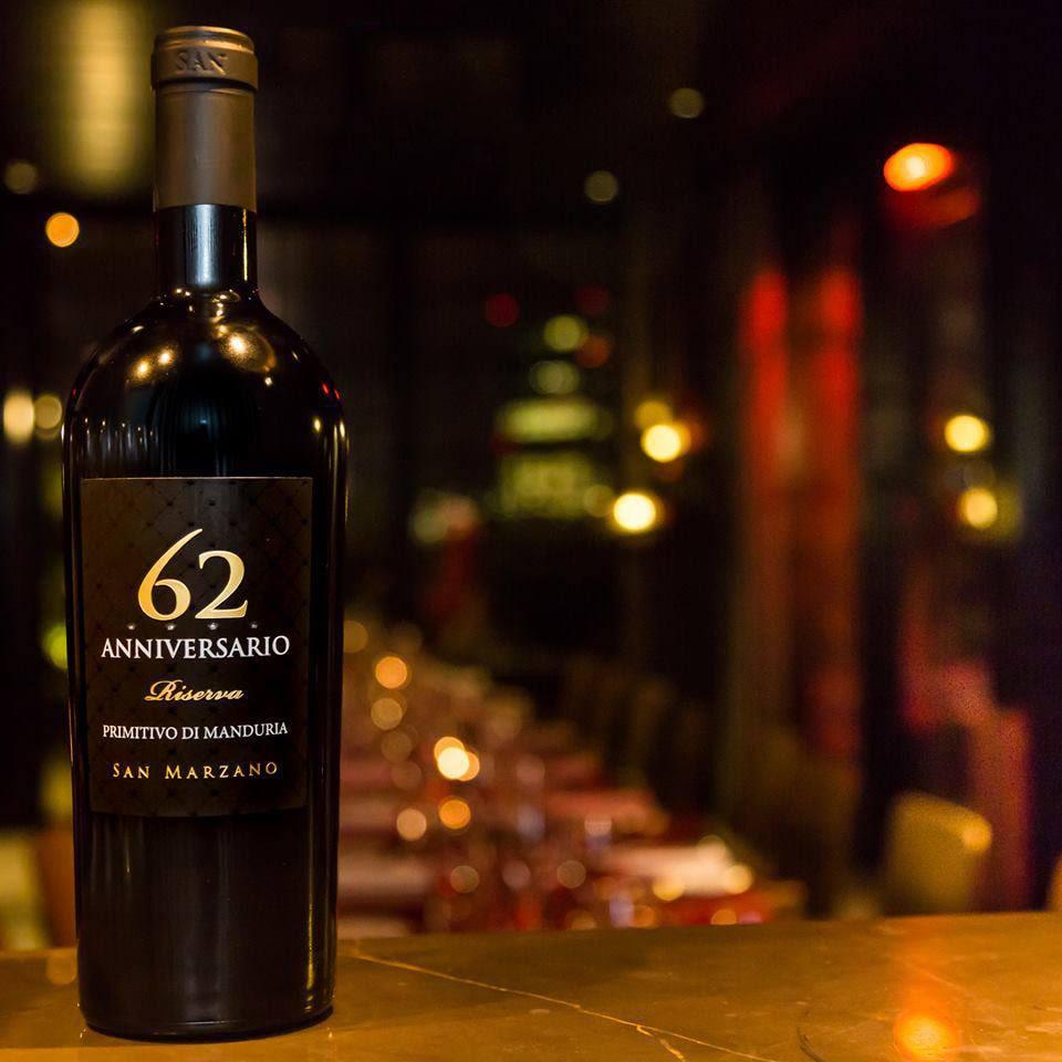 Rượu vang Ý Đỏ 62 Anniversario Primitivo Tại Shop rượu 134 khuất duy tiến