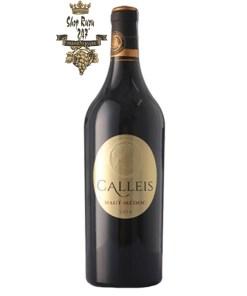 Rượu Vang Đỏ Calleis Haut Medoc có hương vị như một người nghệ sĩ đầy cảm hứng Stephan Derenon rt