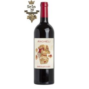 Rượu Vang Ý Đỏ Donnafugata Angheli Sicilia DOC là một loại rượu vang đỏ thanh lịch và linh hoạt trong sự kết hợp của nho