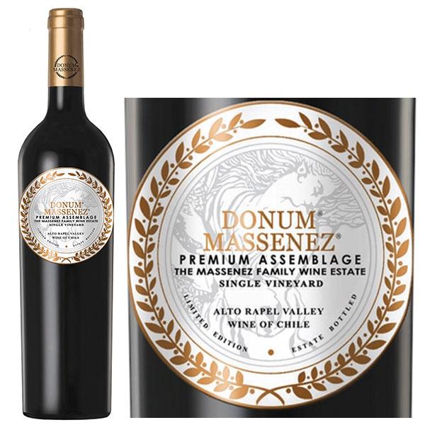Donum Massenez Premium Assemblage Rouge