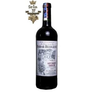 Rượu Vang Đỏ Pháp Chateau Barrail Bellegrave có mầu đỏ sáng tuyệt đẹp. Hương thơm từ quả chín mọng như anh đào, mâm xôi và dâu tím