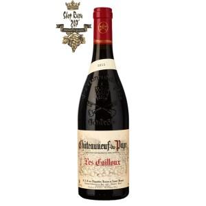 Rượu Vang Đỏ Pháp Chateauneuf Du Pape có màu đỏ đậm. Hương vị đặc biệt của Pháp rất tinh tế đậm đà. Hương thơm thanh lịch