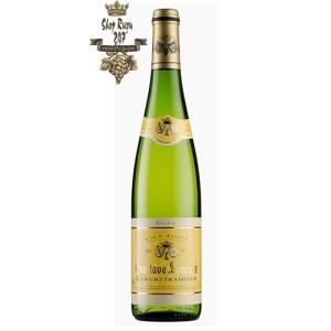 Rượu vang Pháp trắng Gustave Lorentz Alsace Gewurztraminer mang trong mình nồng độ cồn 13% khá tinh tế, chai rượu vang trở nên phù hợp với mọi đối tượng
