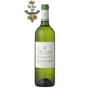 Rượu Vang Trắng Château de Chantegrive Graves white là sự ghi nhận, sự trưởng thành mạnh mẽ, vượt trội của các loại trái cây cá tính, rượu làm nên dấu ấn của kim ngân hoa