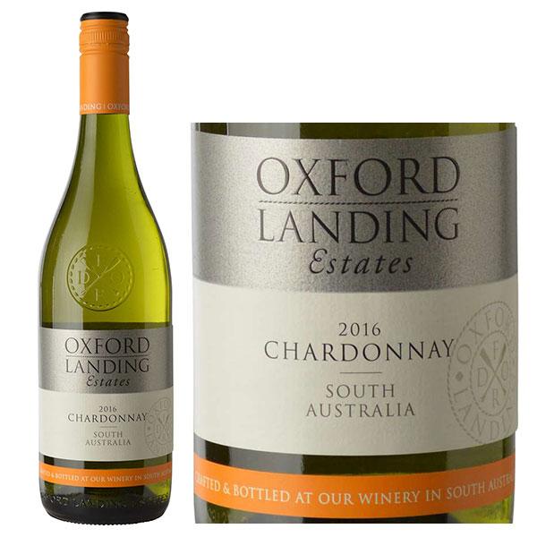 Rượu vang Úc Oxford Landing Chardonnay mang hương vị ngọt ngào, thanh khiết của những trái nho chín, hương bưởi