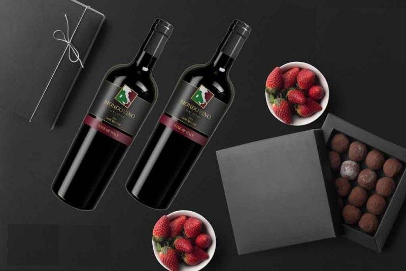 Rượu Vang Ý Mondovino Semi Dolce có màu đỏ ngọc lựu trong sáng và vô cùng bắt mắt. Là dòng vang ngọt mang phong cách