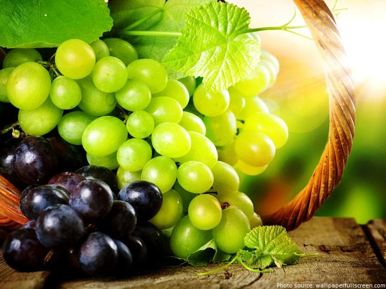 Về mặt thực vật học, nho được xếp vào loại quả mọng .  Nho có nhiều màu sắc . Trắng, đỏ, đen, xanh dương, xanh lá cây, tím và vàng.