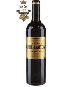 Château Brane-Cantenac, tăng trưởng được xếp hạng thứ hai kể từ năm 1855, ở Margaux, Pháp và sản xuất rượu vang hảo hạng
