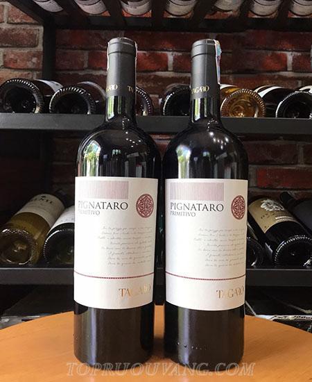 Nhà máy rượu Progetto Vino di Lorusso Michele, nơi sản sinh ra loại rượu Tagaro, hiện đang được điều hành bởi Michele