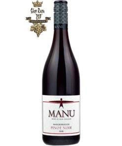 Rượu Vang Đỏ New Zealand Manu Pinot Noir