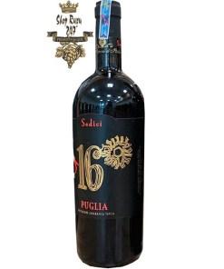 Rượu Vang Đỏ Ý Sedici 16 độ 2