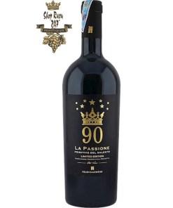 Rượu Vang Ý Feudi Salentini La Passione 90 Primitivo