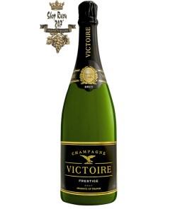 Vang Pháp Champagne G.H. Martel Victoire Prestige Brut mang một chiếc áo choàng mãnh liệt với ánh vàng lấp lánh, Victoire Brut Prestige