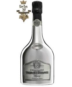 Rượu Champagne Vieille Brut Edition Limité 2006 Thượng hạng mang một màu vàng nhạt nhẹ nhàng, tinh tế và sang trọng. Rượu thể hiện
