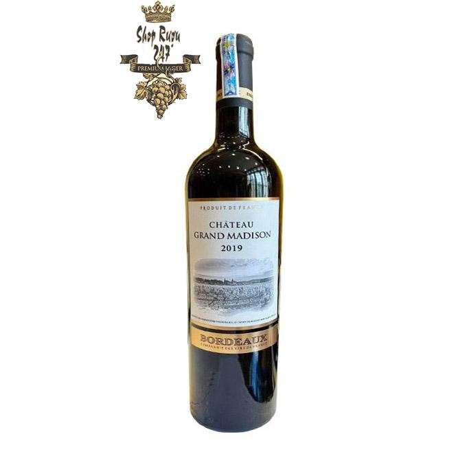Rượu vang đỏ Chateau Grand Madison Bordeaux