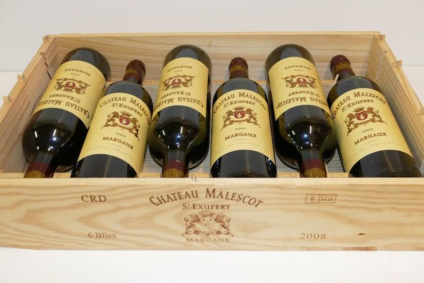 Vang Pháp Château Malescot St. Exupery Margaux Grand Cru Classé được kết hợp từ 50% Cabernet Sauvignon , 35% Merlot , 10% Cabernet Franc và
